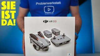 DJI Air 2S Fly More Combo - Unboxing, Zubehör, erster Eindruck + Vergleich mit Mavic Air 2 - deutsch