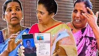 இப்படி ஏமாத்திட்டாங்க Madam..- Lakshmy Ramakrishnan இடம் அழுது முறையிட்ட பெண்கள் |NVEN15