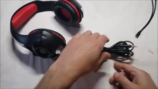 Beexcellent GM-1 Gaming Headset Unboxing