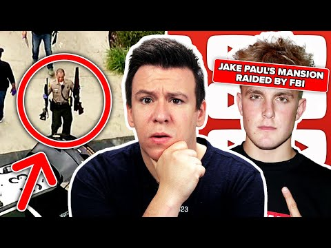 The FBI Just Raided Jake Paul's Home! Weapons Seized?! The Mulan Experiment. Census Problems