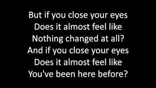 Timeflies - Pompeii Lyrics