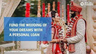 Fund the wedding of your dreams with a personal loan