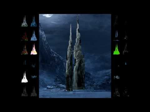 The Chronicles of Narnia: The Lion, The Witch and The Wardrobe – Witches Castle Exterior Shot Build
