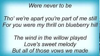 Andy Williams - Blueberry Hill Lyrics