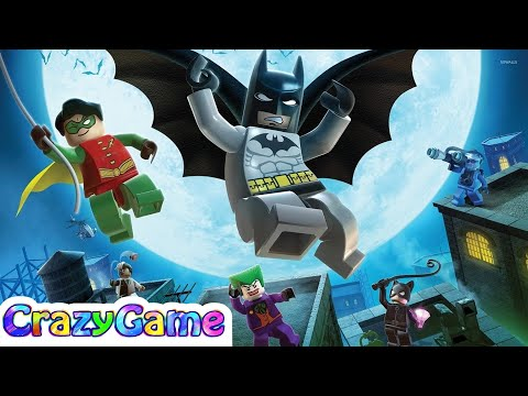 The Lego Batman Movie Full Videogame - Lego Movie Cartoon for Children