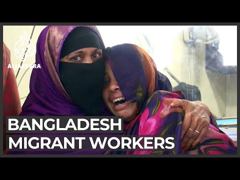 Tales of abuse as Bangladeshi female workers return from the Gulf