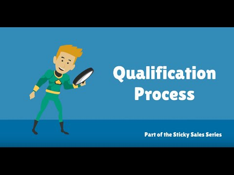 Free Sales Training Video: Qualification Process - YouTube