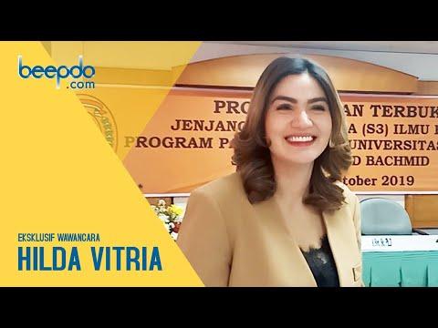 Eksklusif Wawancara Hilda Vitria, Soal Kriss Hatta, Liburan dan Isu Pacar Baru