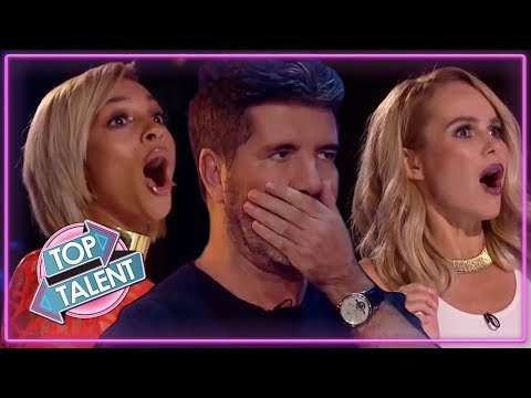 OMG! Simon Cowell NEAR DEATH AUDITIONS On Got Talent! Top Talent