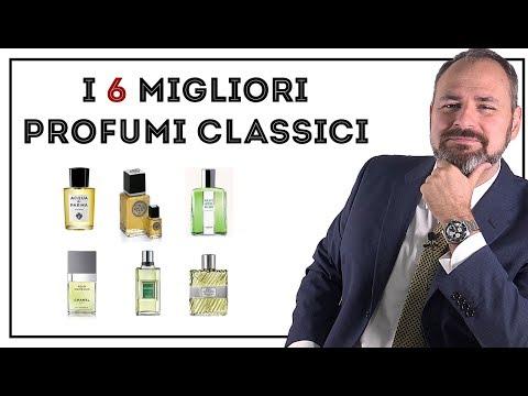I 6 MIGLIORI profumi classici da uomo