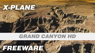 Grand Canyon HD Freeware Photoreal Scenery for X-Plane 11