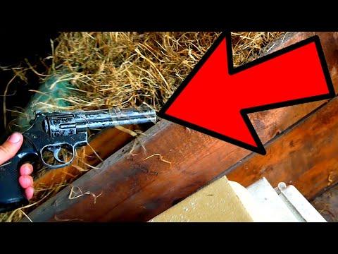 FOUND A SECRET DOOR AND GUN IN MILLIONAIRE DRUG DEALERS MANSION (EVERYTHING LEFT BEHIND)