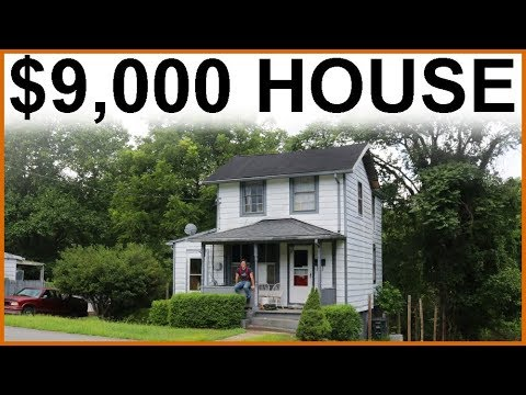 $9,000 CASH HOUSE  ($150K Value)  Renovation Day 1