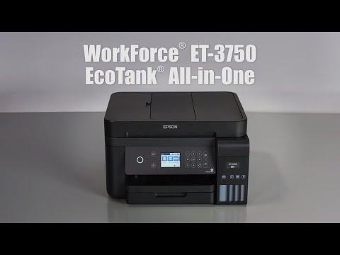 WorkForce ET-3750 EcoTank All-in-One Supertank Printer
