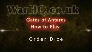 Gates of Antares - How to Play - Order Dice