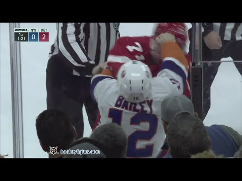 Dylan Larkin vs. Josh Bailey