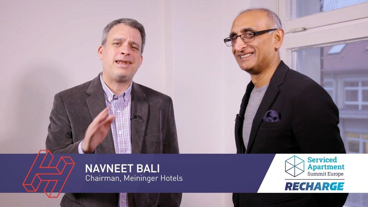 SAS RECHARGE 2019 interviews: Navneet Bali, MEININGER Hotels