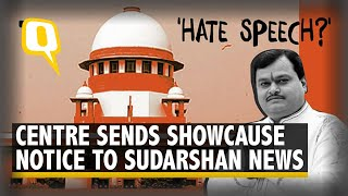 Explain Why UPSC Jihad Show Does not Violate Programme Code: Centre to Sudarshan News | The Quint - Download this Video in MP3, M4A, WEBM, MP4, 3GP
