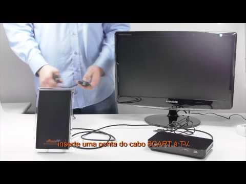 Como instalar o receptor DVB-T (Signal HD 527)