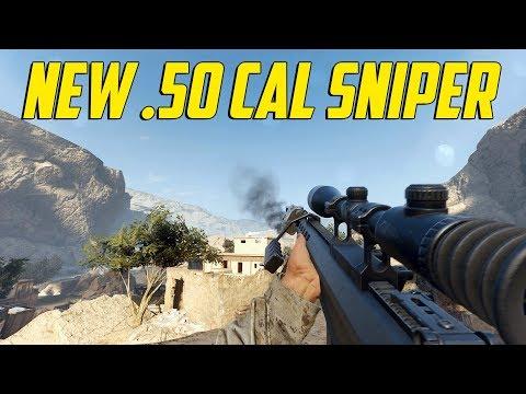 Insurgency Sandstorm - New .50 Cal Sniper