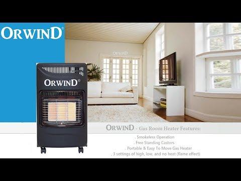 LPG Gas Electric Room Heater