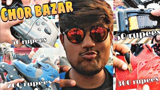 Exploring Real Chor Bazar Delhi😍🔥 | Buy Cheapest Dslr Camera, Shoes,Watches, Electronics
