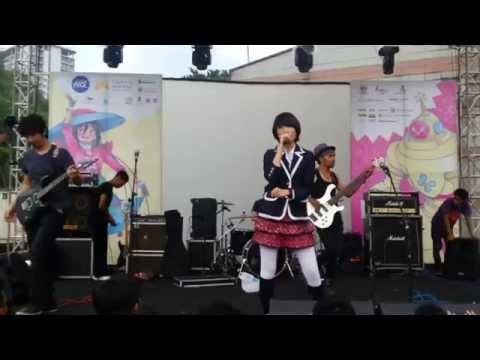 ナノ (Nano) - NO PAIN NO GAME [live cover by SYLVIA @ Bandung Japan Festival]