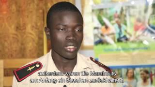"""PASCH """"Du für deine Gemeinschaft"""": Senegal / Straßenkinder"""