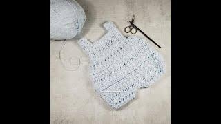 Reggie Baby Romper Crochet Pattern Highlights