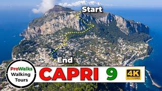 Hiking Capri Italys Monte Solaro [4K]