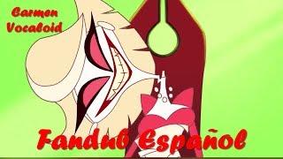 "HAZBIN HOTEL -(CLIP)- ""Biggest Blame Fool"" - FANDUB ESPAÑOL 【Carmen Vocaloid & Hikari Now】"