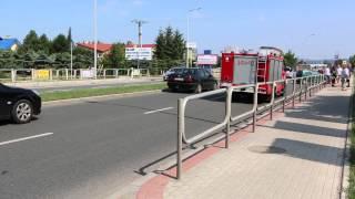 Krosno - Kolizja na ul. Podkarpackiej