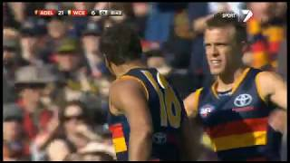 Round 17 Adelaide Crows Vs West Coast Eagles 2012 Highlights