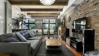 🔝 Industrial Small Apartement Decor Ideas Tour [BEST 2018] | Modern Studio Interior Design Tour