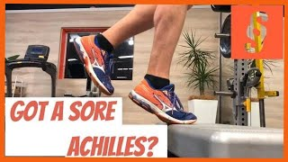 Achilles Tendon Pain? The best treatment for achilles tendonitis (tendinitis). HINT: Its LOAD!