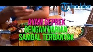 Ayam Geprek Yu Tiwi Punya Varian Sambal Terbanyak, Food Lover!