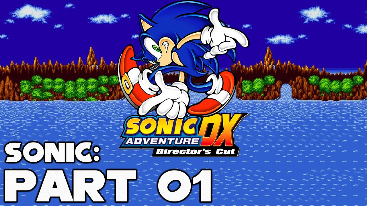 Sonic Adventure – Sonic Part 1: Emerald Coast
