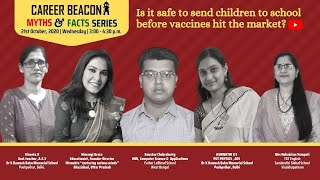 Is it safe to send children to school before vaccines hit the market?