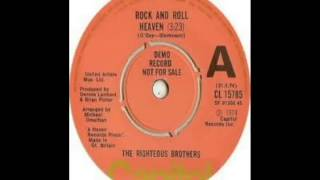 Righteous Brothers - Rock and Roll Heaven (1974)
