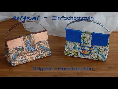 Origami Handtasche von Evigami