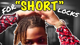 How To Style Dreads!   3 Easy Styles