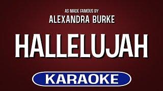 Hallelujah (Karaoke)   Alexandra Burke