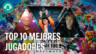Estos son los 10 PROS que DOMINAN Super Smash Bros Ultimate