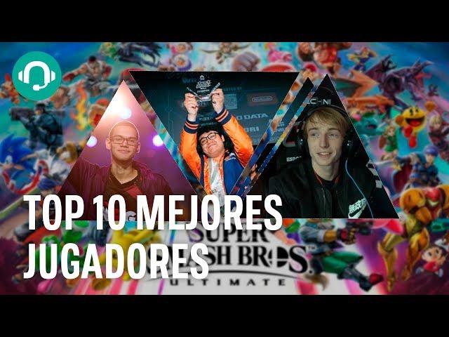 Estos son los 10 PROS que DOMINAN Super Smash Bros Ultimate