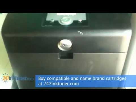 How to change the Dell 3130cn toner cartridges by 247inktoner.com