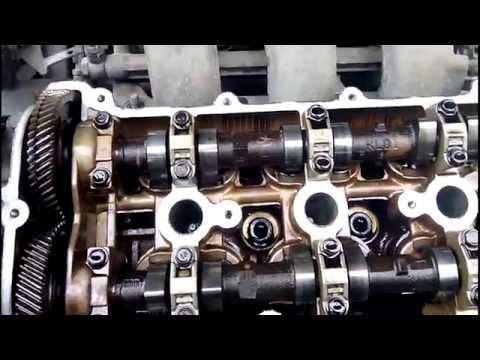 Фото к видео: Разборка двигателя для замены МСК Mazda 626 GE V6 KL 2.5l