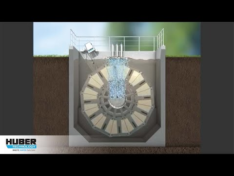 Animation: HUBER Membranbioreaktor VRM® 50