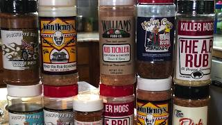 My Favorite BBQ Rubs + 100 Subscriber Giveaway