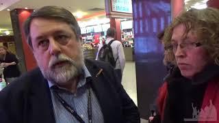 6 12 17 Президент Артдокфест Виталий Манский и Татьяна Расторгуева