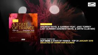 A State Of Trance Top 20 - January 2019 (Selected by Armin van Buuren) [OUT NOW] [Mini Mix]
